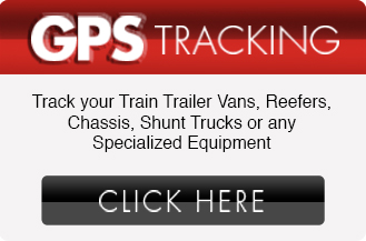 Track your Train Trailer Vans, Reefers, Chassis, Shunt Trucks or any Specialized Equipment